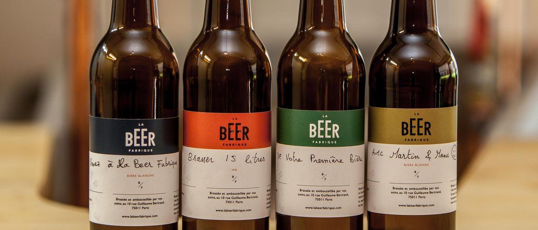 bouteilles à bières personnalisées