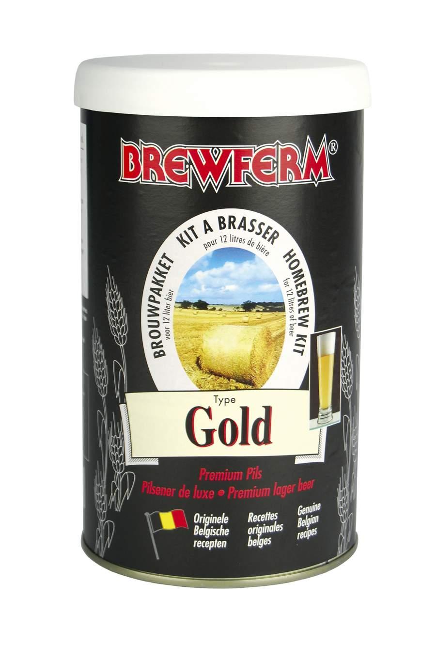 kit ingr dients pour bi re gold brewferm 12l. Black Bedroom Furniture Sets. Home Design Ideas