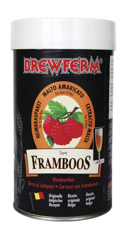 Kit bière BREWFERM framboise