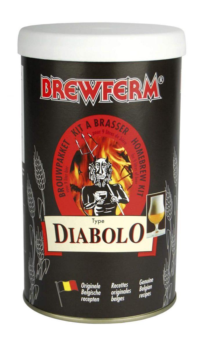 kit bière brewferm diabolo