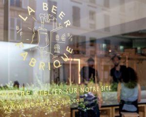 la beer fabrique vitrine