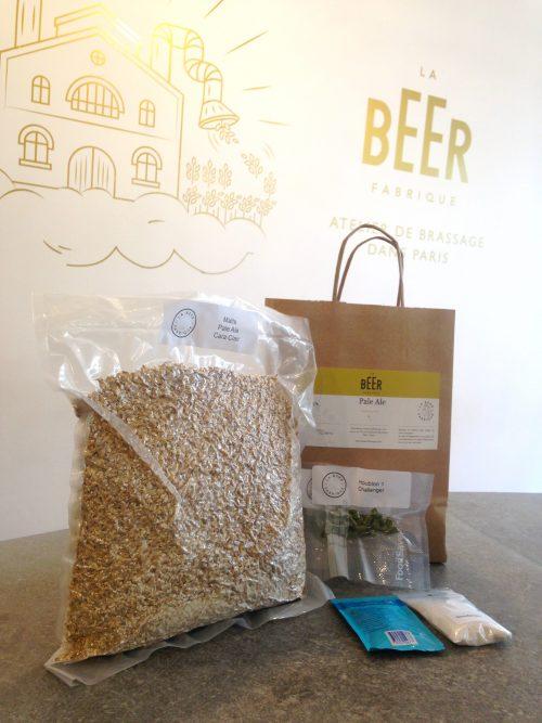 Materiel de fabrication de bière Pale Ale