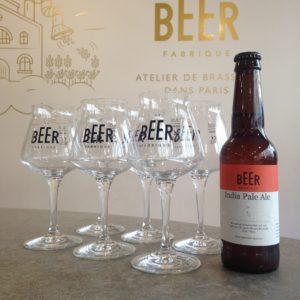 6 verres dégustation bière