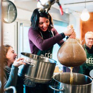 Atelier de brassage pour faire sa propre bière