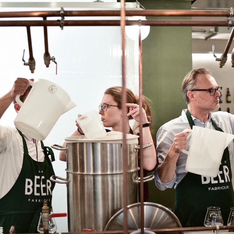 brassage de biere en team building