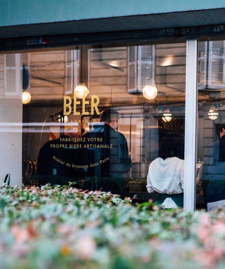 Atelier de brassage La Beer Fabrique à Paris