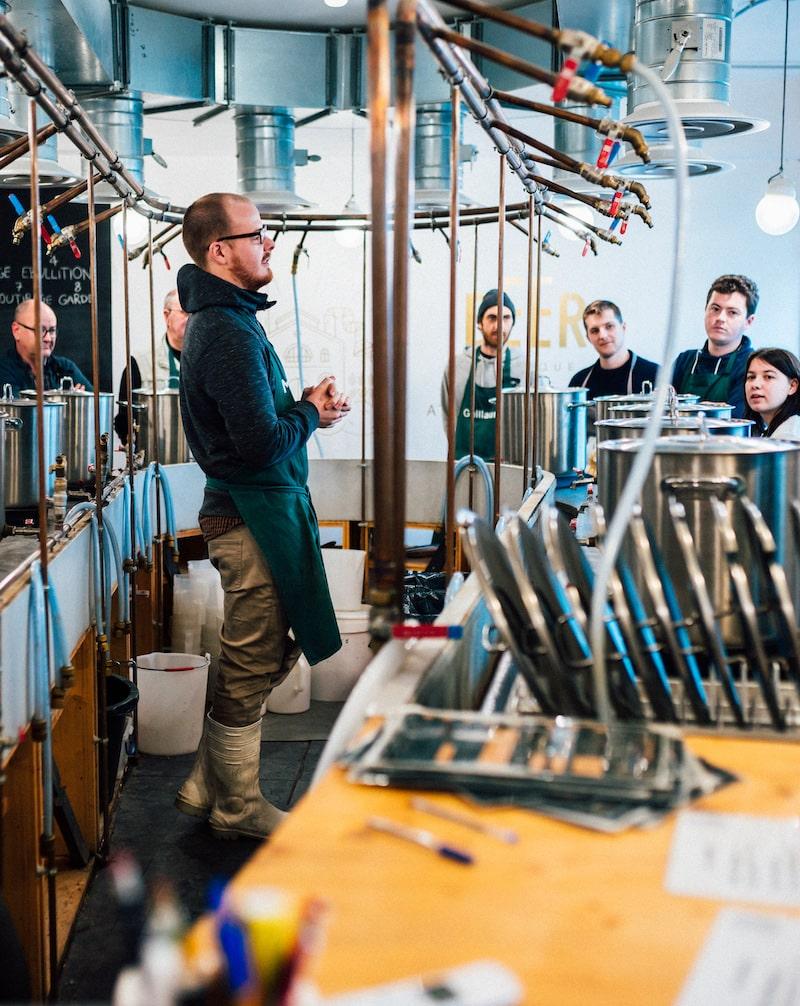 Ateliers maitre brasseur à paris