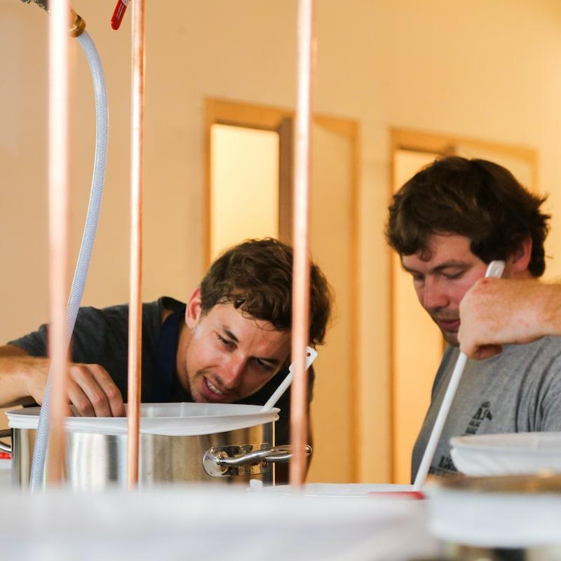 Atelier de brassage bière à la beer fabrique