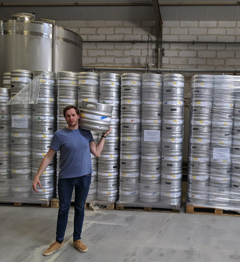 Contenant de bière personnalisé