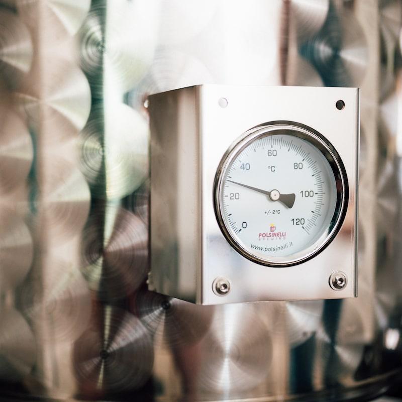 Cadran et outil de mesure pression bière